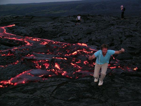 Volcano Park Big Island Of Hawaii